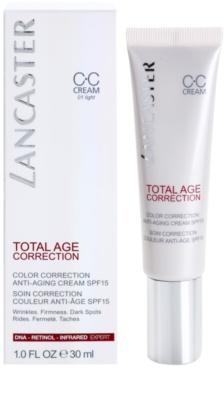 Lancaster Total Age Correction Anti-Aging CC Creme SPF 15 2