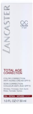 Lancaster Total Age Correction Anti-Aging CC Creme SPF 15 3