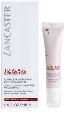 Lancaster Total Age Correction crema antirid pentru zona ochilor SPF 15 1