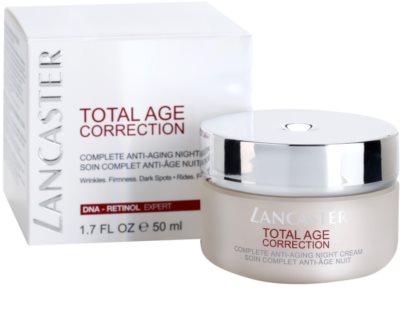 Lancaster Total Age Correction crema de noche antienvejecimiento 1