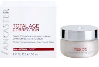 Lancaster Total Age Correction crema de noche antienvejecimiento 2