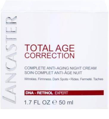Lancaster Total Age Correction crema de noche antienvejecimiento 4