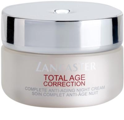 Lancaster Total Age Correction crema de noche antienvejecimiento