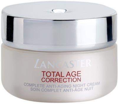 Lancaster Total Age Correction creme de noite anti-idade de pele