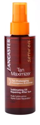Lancaster Tan Maximizer száraz regeneráló olaj a napbarnítottság meghosszabbítására arcra és testre