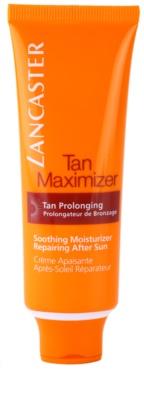 Lancaster Tan Maximizer zklidňující hydratační krém pro prodloužení opálení na obličej