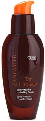 Lancaster Tan Preparer ser hidratant inainte de bronzare