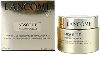 Lancome Absolue Precious Cells nappali regeneráló krém SPF 15 2
