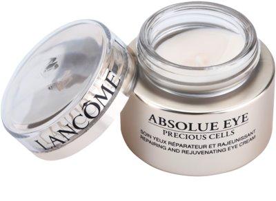 Lancome Absolue Precious Cells tratamiento de ojos regenerador y reparador 1