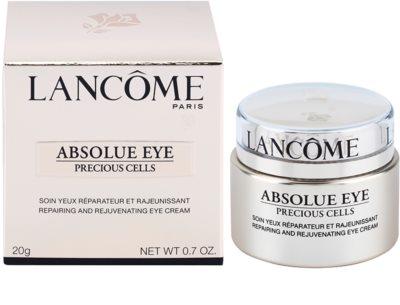Lancome Absolue Precious Cells tratamiento de ojos regenerador y reparador 2