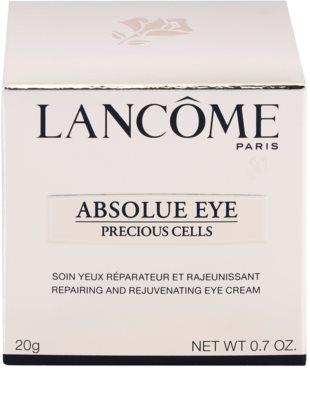 Lancome Absolue Precious Cells tratamiento de ojos regenerador y reparador 3