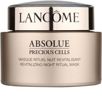 Lancome Absolue Precious Cells éjszakai revitalizáló megújító maszk
