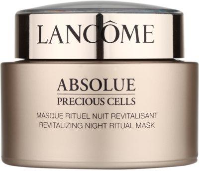 Lancome Absolue Precious Cells mascarilla de noche revitalizante para renovar la piel