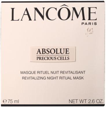 Lancome Absolue Precious Cells máscara revitalizadora para a noite para a renovação da pele 2