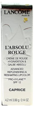Lancome L'Absolu Rouge hydratisierender Lippenstift SPF 15 2
