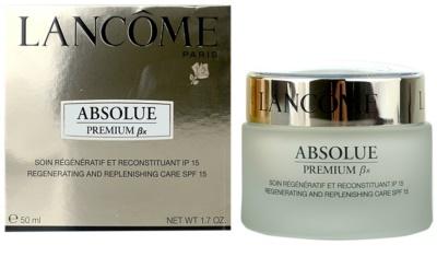 Lancome Absolue Premium ßx denní zpevňující a protivráskový krém SPF 15 2