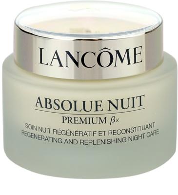 Lancome Absolue Premium ßx noční zpevňující a protivráskový krém