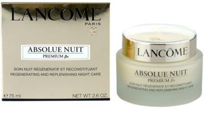 Lancome Absolue Premium ßx noční zpevňující a protivráskový krém 2