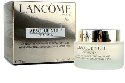 Lancome Absolue Premium ßx noční zpevňující a protivráskový krém 3