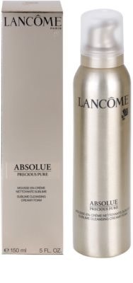 Lancome Absolue Precious Pure очищаюча пінка 2