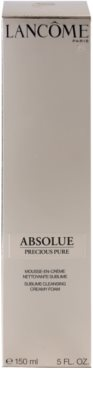 Lancome Absolue Precious Pure очищаюча пінка 3