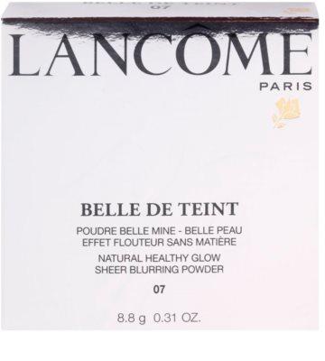 Lancome Belle De Teint polvos iluminadores de acabado mate 3