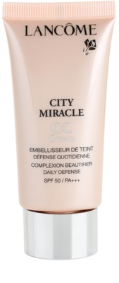 Lancome City Miracle CC крем SPF 50