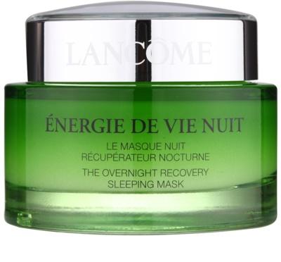 Lancome Énergie De Vie erneuernde Maske für die Nacht für müde Haut
