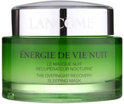 Lancome Énergie De Vie нощна възстановяваща маска за уморена кожа