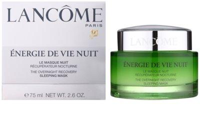 Lancome Énergie De Vie éjszakai megújító maszk fáradt bőrre 1