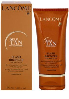 Lancome Flash Bronzer hidratáló arckrém a fokozatos barnulásért 1