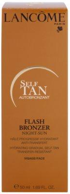 Lancome Flash Bronzer crema facial hidratante   de bronceado gradual 2