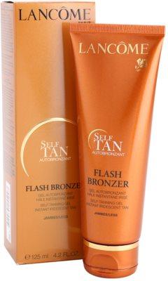 Lancome Flash Bronzer gel autobronzeador para pernas 1