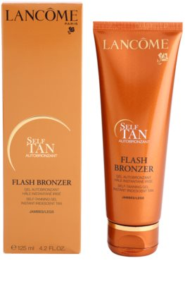 Lancome Flash Bronzer gel autobronzeador para pernas 2