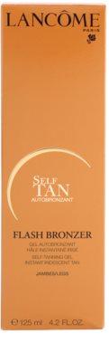 Lancome Flash Bronzer gel autobronzeador para pernas 3
