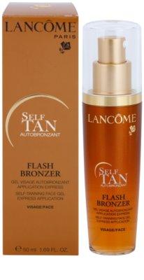 Lancome Flash Bronzer samoopalovací gel na obličej 2