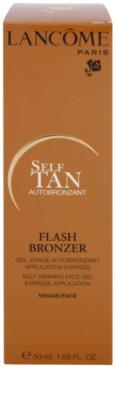 Lancome Flash Bronzer samoopalovací gel na obličej 3