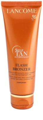 Lancome Flash Bronzer samoopaľovacie telové mlieko