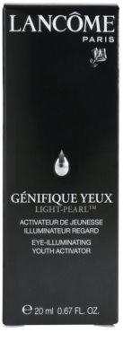 Lancome Genifique serum rozjaśniające pod oczy przeciw zmarszczkom i cienom pod oczami 3