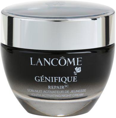 Lancome Genifique нічний омолоджуючий крем для всіх типів шкіри