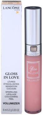 Lancome Gloss In Love transparentní lesk na rty pro zvětšení objemu 2
