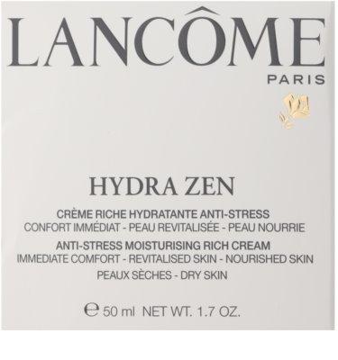 Lancome Hydra Zen богат хидратиращ крем за суха кожа 2
