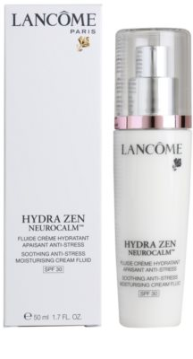 Lancome Hydra Zen fluido para pele sensível 3
