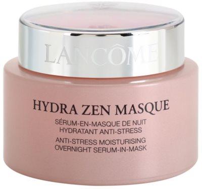Lancome Hydra Zen mascarilla antiestrés de noche con efecto serum