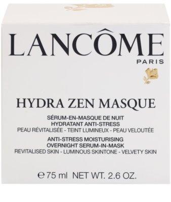Lancome Hydra Zen антистрес нощна маска с ефект на серум за лице 3