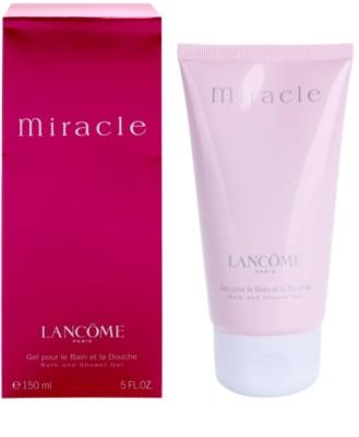 Lancome Miracle gel de duche para mulheres