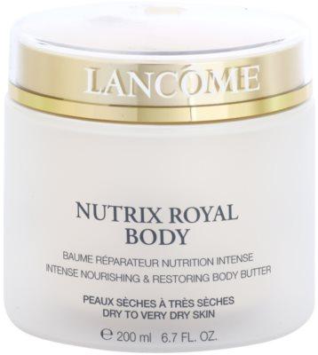 Lancome Nutrix Royal intenzíven tápláló és megújító krém Száraz, nagyon száraz bőrre