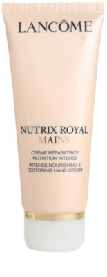 Lancome Nutrix Royal crema hidratante y regeneradora  para manos