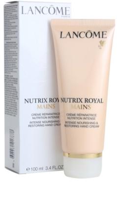 Lancome Nutrix Royal crema hidratante y regeneradora  para manos 1