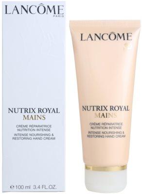 Lancome Nutrix Royal crema hidratante y regeneradora  para manos 2
